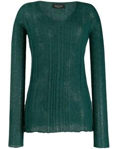 свитер в рубчик Roberto collina