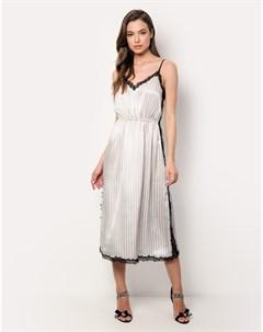 Платье на бретелях Dion bianco 4 Incanto