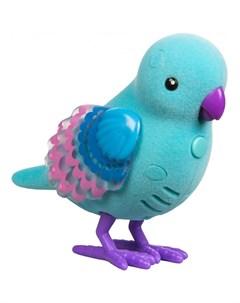 Интерактивная игрушка Птичка со светящимися крылышками Жемчужная Ракушка Little live pets