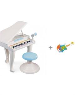 Музыкальный инструмент Пианино и Рок Гитара Weina