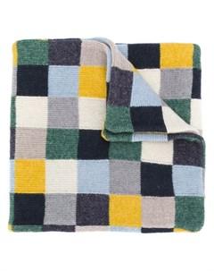 шарф с геометричным принтом Hackett