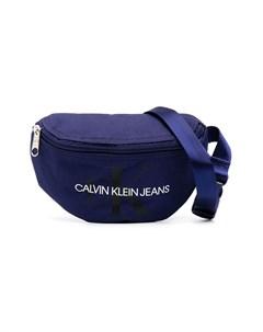 поясная сумка с логотипом Calvin klein kids