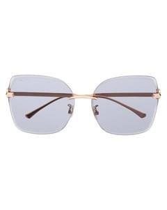 Солнцезащитные очки Corin в квадратной оправе Jimmy choo eyewear