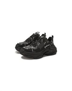 Кожаные кроссовки Triple S Balenciaga