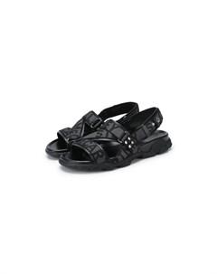 Текстильные сандалии Stella mccartney