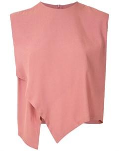 Блузка без рукавов с запахом Osklen