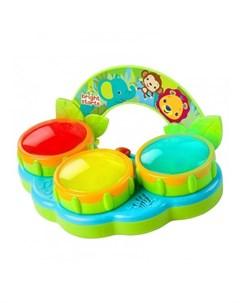 Bright starts 52269 музыкальная игрушка барабаны сафари Bright starts