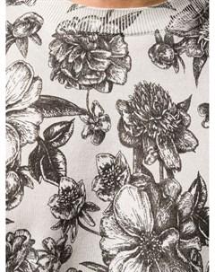 Джемпер с цветочным принтом Laneus
