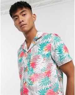 Пляжная рубашка с принтом Мульти Slydes