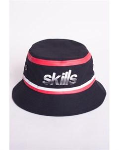 Панама Stripes Black Red L XL Skills