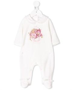 пижама с цветочным принтом Monnalisa