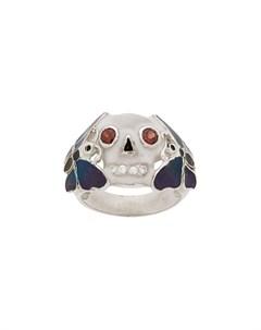кольцо с черепом Ktz