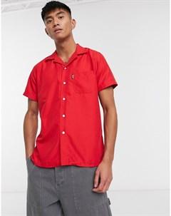 Красная пляжная рубашка Красный Slydes
