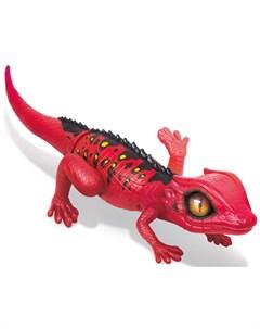Робо ящерица красная интерактивная игрушка Zuru