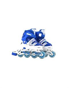 Детские ролики колеса PVC со светом 1toy