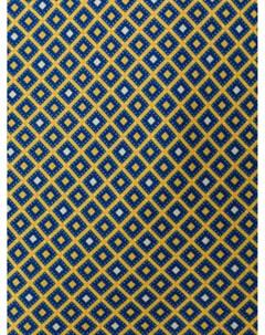 галстук с микропринтом Borrelli