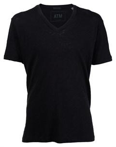 Мешковатая футболка с V образным вырезом Atm anthony thomas melillo