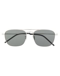 Солнцезащитные очки авиаторы SL309 Saint laurent eyewear