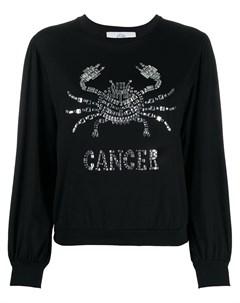 Декорированный топ Cancer с длинными рукавами Alberta ferretti
