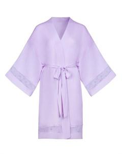 Халат с рукавами 3 4 Charlize lavender 3 Incanto