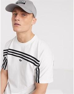 Серая кепка с логотипом Серый Adidas originals