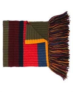 длинный шарф в полоску The elder statesman