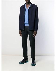 кашемировый пуловер с V образным вырезом Doriani cashmere
