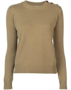 Приталенный свитер с длинными рукавами Alexandra golovanoff