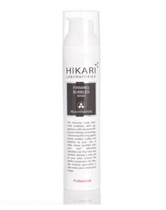 Маска кислородная с эффектом микро массажа для лица FIRMING BUBBLES MASK 100 мл Hikari laboratories