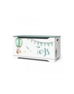 Маленький ящик для игрушек Скандинавский Мишка Continent decor