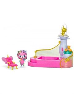 Игровой набор Спа для Фелисити Радужно бабочково единорожная кошка
