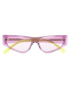 Солнцезащитные очки в оправе кошачий глаз Stella mccartney eyewear