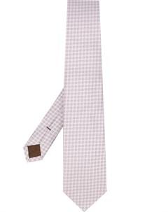 галстук с заостренным концом Church's