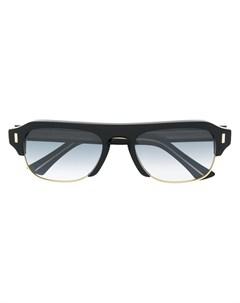 солнцезащитные очки в массивной оправе Cutler & gross