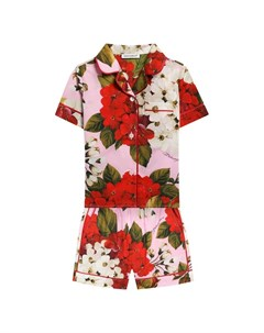 Хлопковая пижама Dolce&gabbana