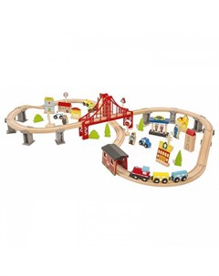 Железная дорога 70 предметов Lanaland