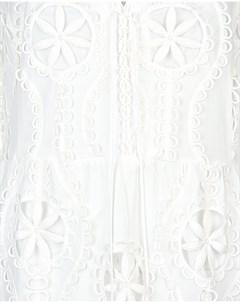 Кружевное платье макси Valerie khalfon