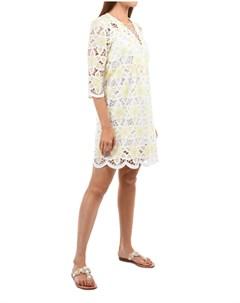 Мини платье с V образным вырезом Valerie khalfon