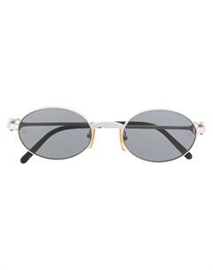 солнцезащитные очки в овальной оправе Cartier