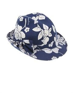 Шляпа с цветочным принтом детская Monnalisa