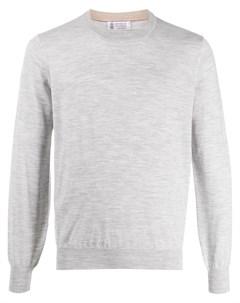 пуловер свободного кроя Brunello cucinelli