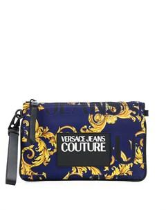 клатч с принтом Logo Baroque Versace jeans couture