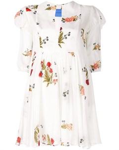 Платье Piper с цветочным принтом Macgraw