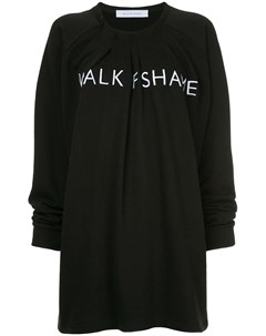 Платье толстовка с логотипом Walk of shame