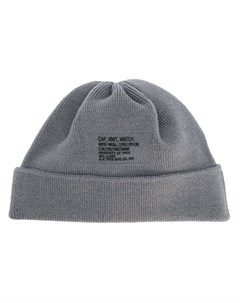 шапка бини с вышивкой N. hoolywood