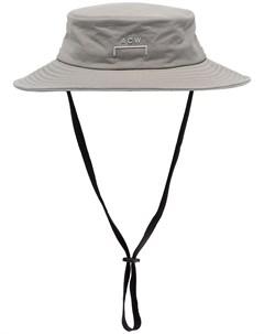 широкополая шляпа с логотипом A-cold-wall*