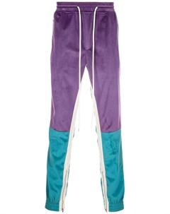 Бархатные брюки в стиле ретро God's masterful children