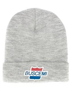 Шапка бини с нашивкой логотипом Buscemi