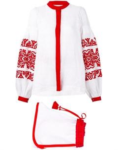 вышитый костюм с шортами Yuliya magdych