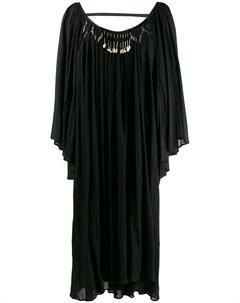 декорированное платье туника Giacobino